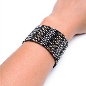 Handmade loom beade bracelet